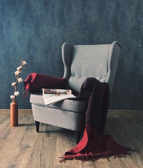 fotel dla pisarza kryminałów