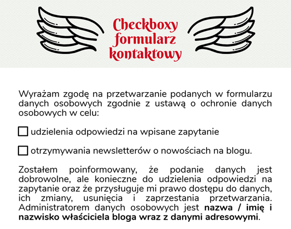 checkboxy rodo