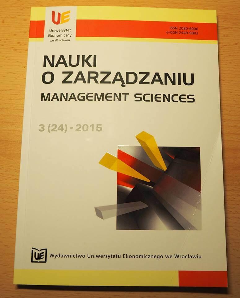 Nauki o zarządzaniu