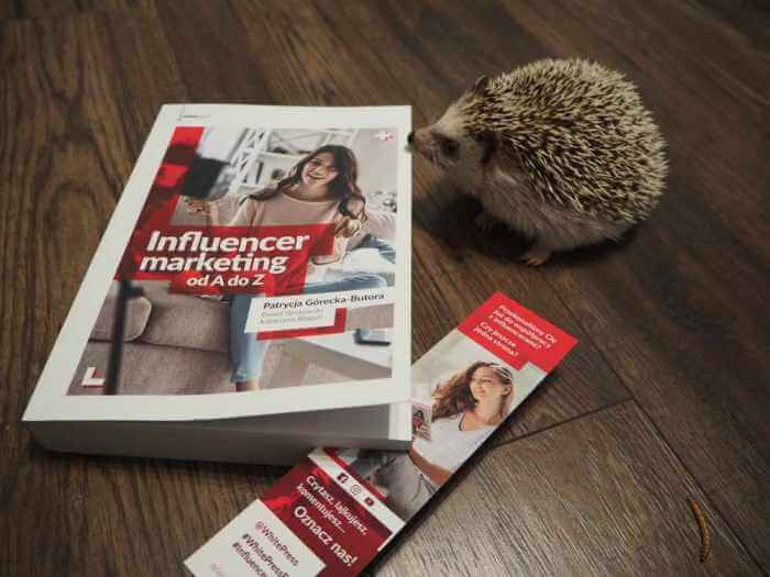 Influencer marketing od A do Z książka whitepress