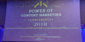 Power of Content Marketing Conference 2019: Trends Technology Tools – relacja
