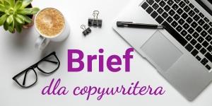 Brief copywritera – co powinien zawierać, aby ułatwić pracę nad treściami dla klienta?