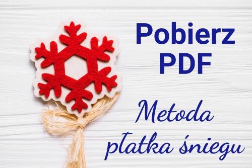 metoda płatka śniegu pdf