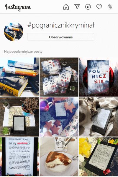 pogranicznik  kryminał instagram