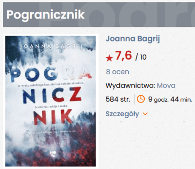 Pogranicznik lubimyczytac.pl